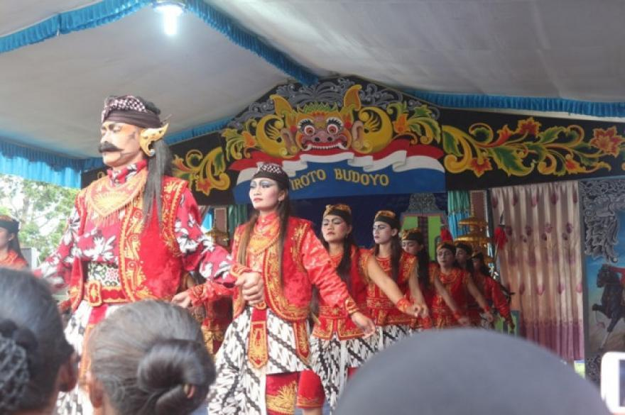 Image : Tari Soreng Dusun Garon-Grintingan