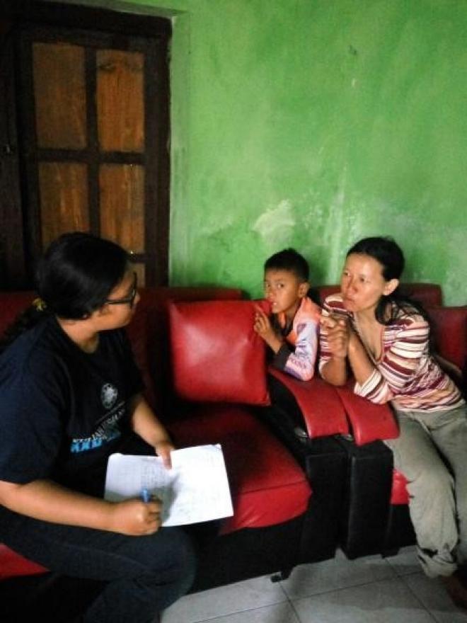 Image : Sensus Hasil Pertanian di Dusun Banyuroto